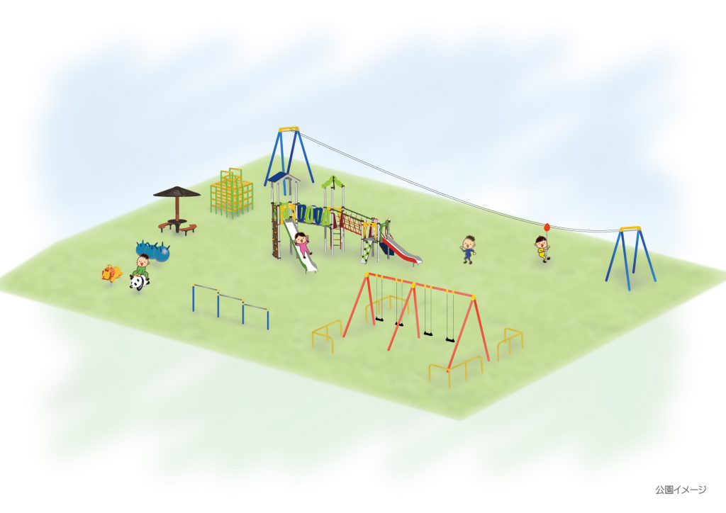 ほっぷ子ども広場イメージ図